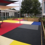 Play Area Surfacing in Broad Clough 3