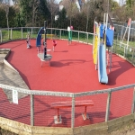 Play Area Surfacing in Aberfan 10
