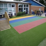 Play Area Surfacing in Elson 3