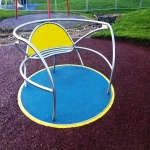 Play Area Surfacing in Abinger Common 11