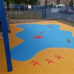 Play Area Surfacing in Abinger Common 6