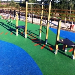 Play Area Surfacing in Aberfan 2