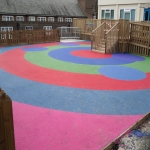 Play Area Surfacing in Aberfan 3