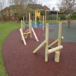 Play Area Surfacing in Aspley 1