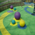 Play Area Surfacing in Abernant 2