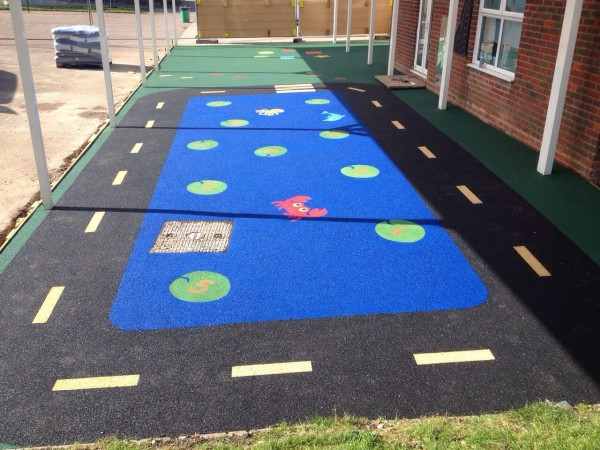 Wet Pour Surfacing - Soft flooring for children's play area