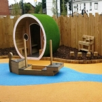 Wetpour Rubber Play Surfaces in Abbot's Salford 8