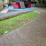 Play Area Surfacing in Alway 8