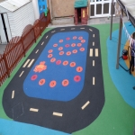 Play Area Surfacing in Aldeby 1
