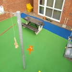 Play Area Surfacing in Aberfan 1