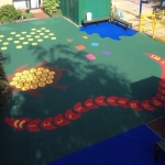 Wetpour Rubber Play Surfaces in Abbot's Salford 2