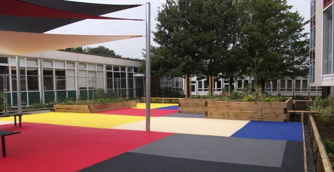 Playground Flooring in Abinger Common