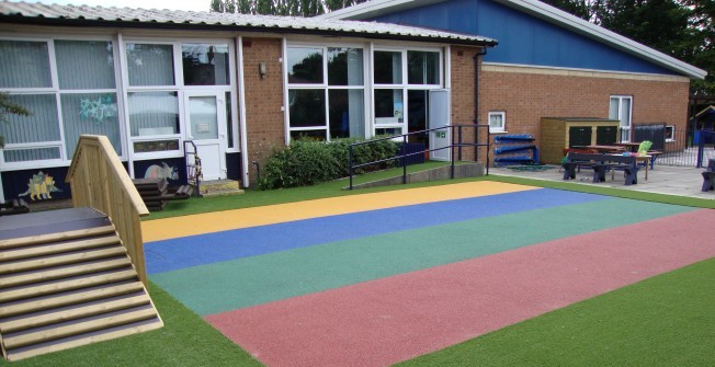 Experts in Playground Flooring in Aberlemno