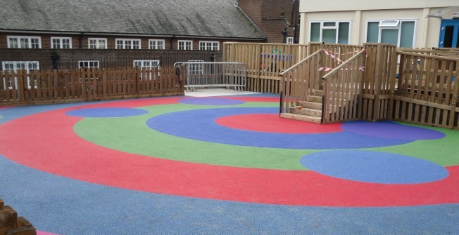 Playground Flooring Construction in Amisfield