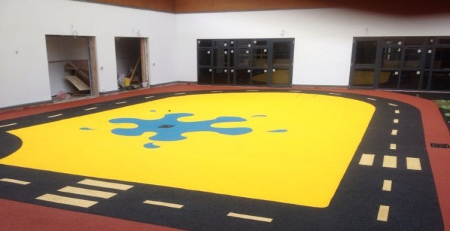 Rubber Playground Flooring in Abbey Dore